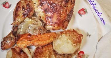 Pollo a la mostaza. Receta saludable y deliciosa.