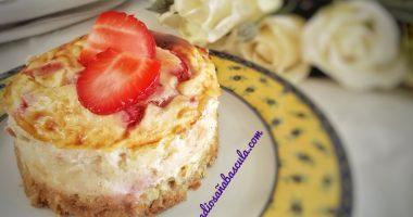 Tartitas mini de queso y fresas
