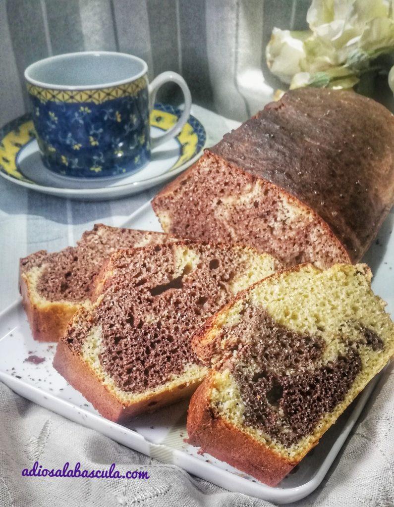 Bizcocho sin gluten y sin azucar